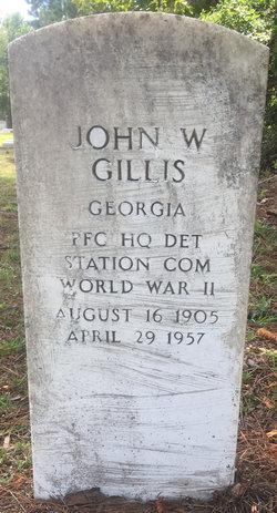 PFC John W Gillis