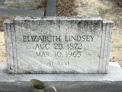 """Hattie Elizabeth """"Lizzie"""" Lindsey"""