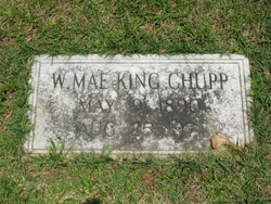 W. Mae <I>King</I> Chupp