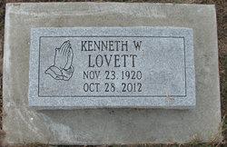 """Kenneth Warren """"Kenny"""" Lovett"""