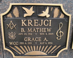 Grace A. <I>Brewer</I> Krejci