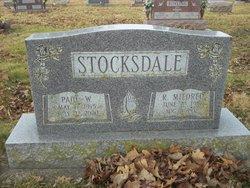 "Roxy Mildred ""Millie"" <I>Martin</I> Stocksdale"
