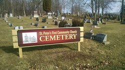 Saint Peters First Cemetery