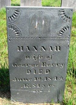 Hannah <I>Evans</I> Berry