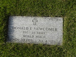 Donald E Newcomer