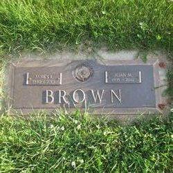 Joan M. <I>Chambers</I> Brown