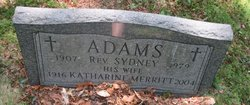 Katharine Estelle <I>Merritt</I> Adams