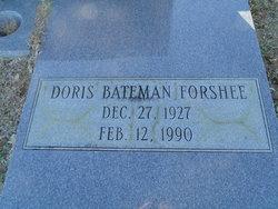 Doris <I>Bateman</I> Forshee