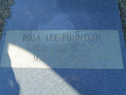 Rosa Lee Fountain