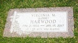 Virginia Mae <I>Lohr</I> Harwood