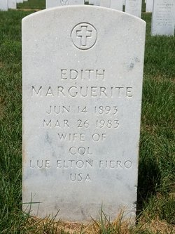 Edith Marguerite <I>Calkins</I> Fiero