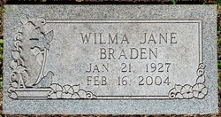 Wilma Jane <I>Harper</I> Campbell - Braden