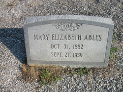 Mary Elizabeth Ables
