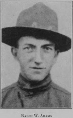 Pvt Ralph Winthom Adams