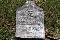 Mary Ann <I>Dossett</I> Cowan