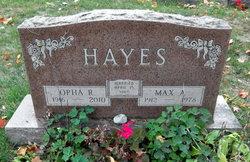 Opha Roberta <I>Viers</I> Hayes