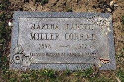 Martha Jeanette <I>Miller</I> Conrad