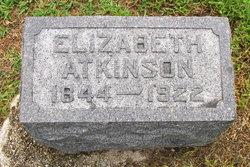 Elizabeth <I>Beale</I> Atkinson