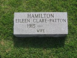 """Eileen Mary Clare """"Pat"""" <I>Patton</I> Hamilton"""