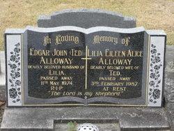 Lilia Eileen Alice <I>McEwen</I> Alloway