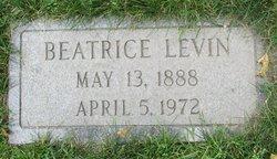Beatrice <I>Tuchman</I> Levin