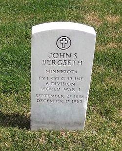 John S Bergseth