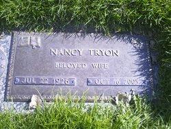 Nancy <I>Blackwelder</I> Tryon
