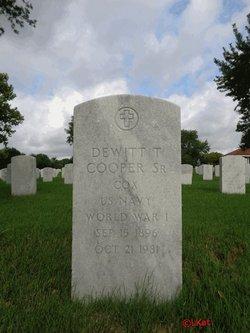 Dewitt T Cooper, Sr