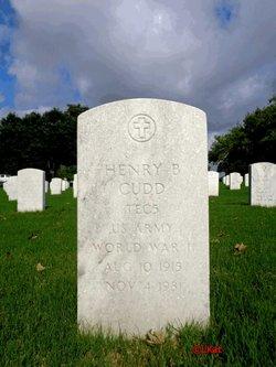 Henry B Cudd