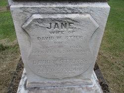 Jane <I>Stitt</I> Stier