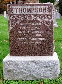Marit Olsdatter <I>Knudsen</I> Thompson