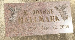 M. Joanne <I>Warner</I> Hallmark