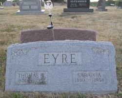 Sarah Ann <I>Vaughn</I> Eyre
