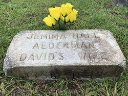 Jemima <I>Hall</I> Alderman