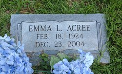 Emma Lou <I>Boyd</I> Acree