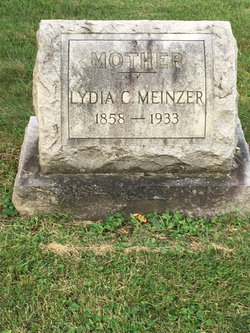 Lydia <I>Rieger</I> Meinzer