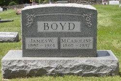 Mary Caroline <I>McCoy</I> Boyd