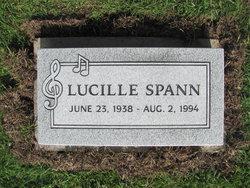 "Mahalia Lucille ""Lucille"" <I>Jenkins</I> Spann"