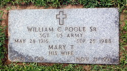 Mary Theresa Schane Poole (1919-1991) - Find A Grave Memorial