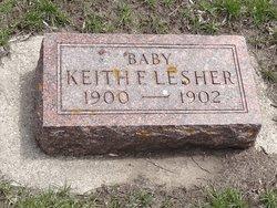 Keith F.  (child) Lesher