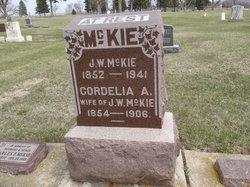 Cordelia A. <I>Hare</I> McKie
