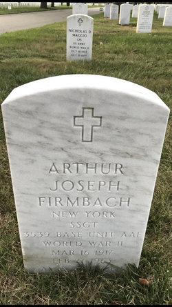 Arthur Joseph Firmbach (1917-1963) - Find A Grave Memorial