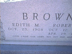 Edith May <I>Stroud</I> Brown