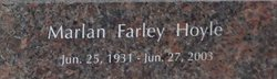 Marlan Farley Hoyle