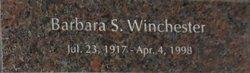 Barbara S. Winchester