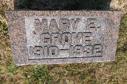 Mary E,. Grove