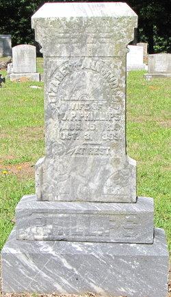 Elizabeth Ann <I>Hudson</I> Phillips