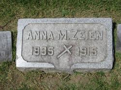 Anna Mary <I>Reichart</I> Zeien