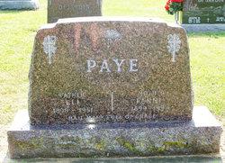 Fannie <I>Henry</I> Paye