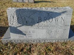 Florence A <I>Koehler</I> Brown